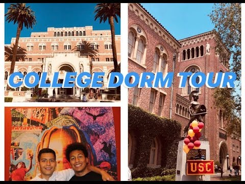 COLLEGE DORM TOUR | University of Southern California