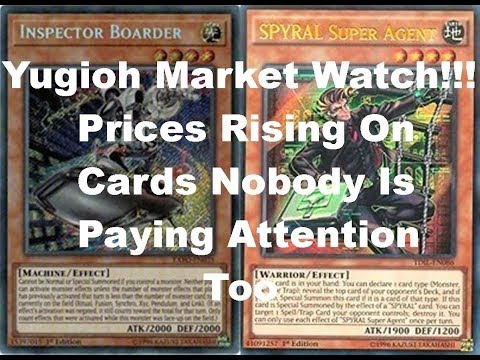 Yugioh!!! Market Watch Prices Rising On Cards Nobody Is Paying Attention To