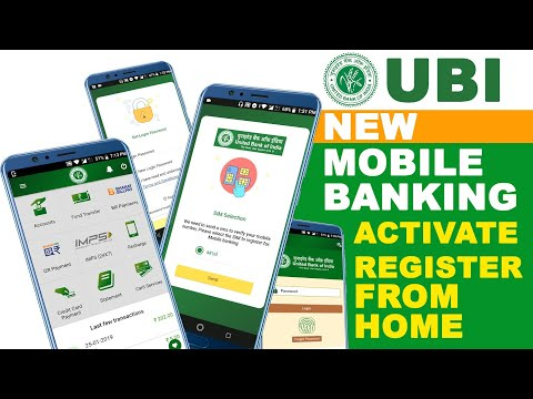 United Bank Of India Mobile Banking Registration And Activate With New App | Fix SMS Problem [HINDI]