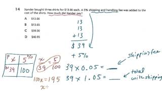 7th Grade Math - Test Prep - Book 1