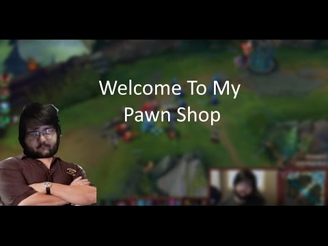 I'm Pink Wardison, and this is my Pawn Shop - Ap Shaco vs Singed