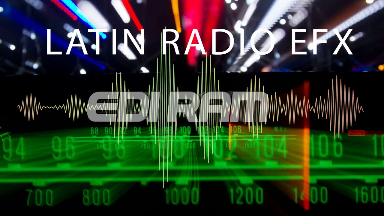 Latin Radio efx vol 1 Pack - YouTube
