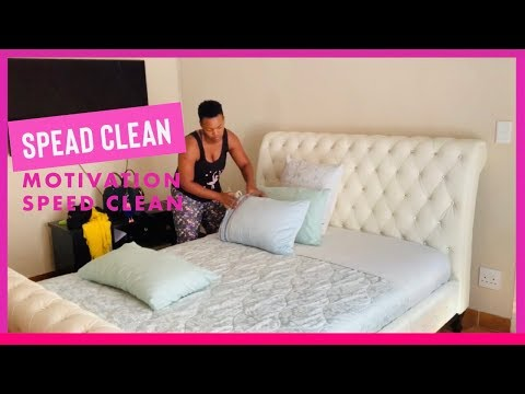 SPEED CLEAN | cleaning motivation | south african youtuber