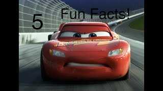 Five Fun Facts about Lightning McQueen