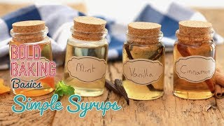 how to simple syrup