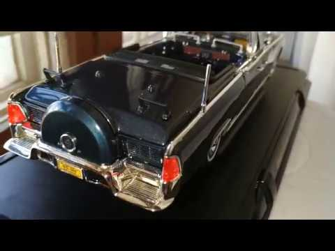 1:24  Presidential Limousine 1961 Lincoln Continental Review