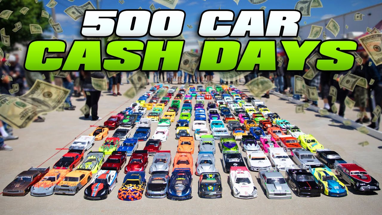 Worlds LARGEST R/C Car Race - $25,000 to win!
