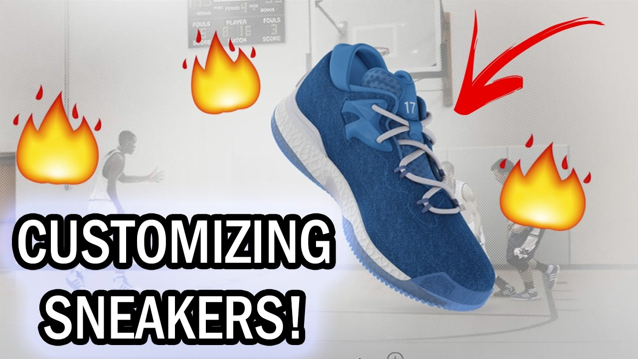 detailed look 61a3a dfd79 CUSTOMIZING SNEAKERS! (Adidas Crazylight Boost 2016)