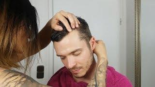 ASMR Deeply Relaxing Head & Scalp Oil Massage