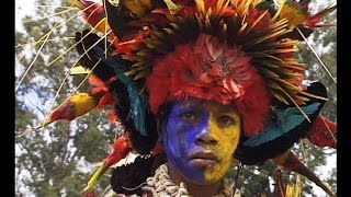 Papua New Guinea sing sing festival