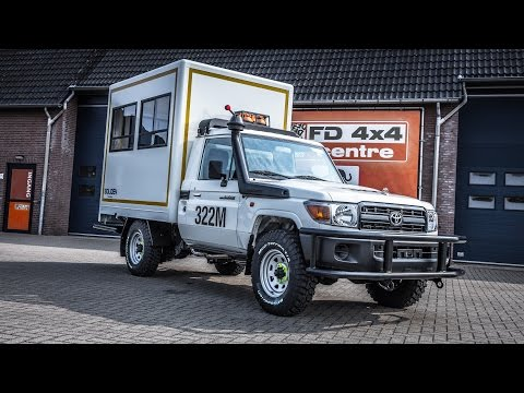 Mining light vehicle - SIMBA by FD 4x4 Centre