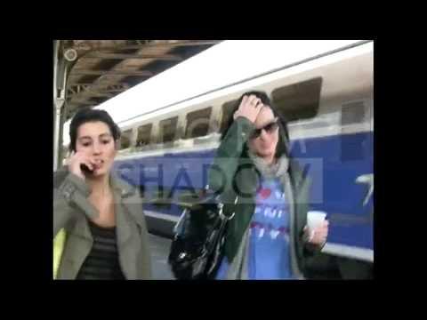 Lady Gaga and Katy Perry meeting at Gare de Lyon Train Station in Paris