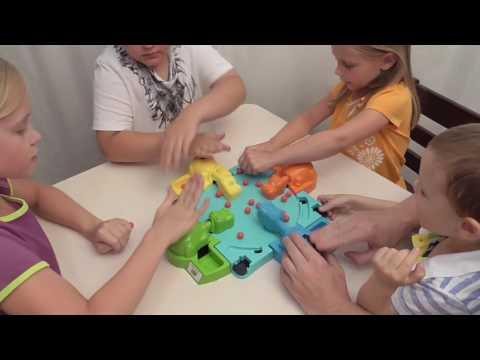 Челлендж Голодные Голодные Бегемотики/ Challenge THE HUNGRY HUNGRY HIPPOS /