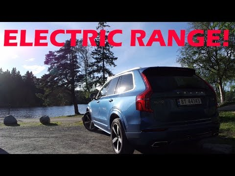 Electric Range Challenge in the 2017 Volvo XC90 T8 R-design!