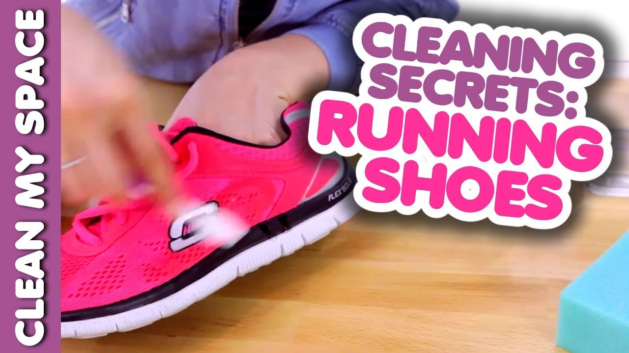 d8d6b0cce724 Cleaning Secrets  Running Shoes! (How to Get Your Shoes Cleaner ...