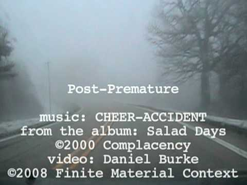 post premature •CHEER-ACCIDENT