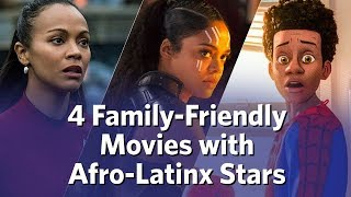4 Family-Friendly Movies with Afro-Latinx Stars Video