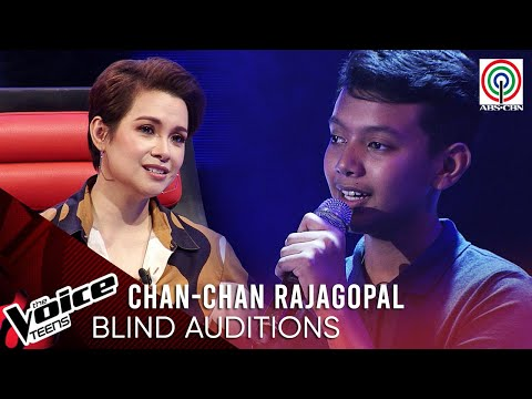 Kristian Edward Rajagopal - Kailangan Kita | Blind Audition | The Voice Teens Philippines 2020