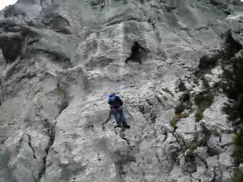 Klettersteig Unfall : Pidinger klettersteig teil youtube
