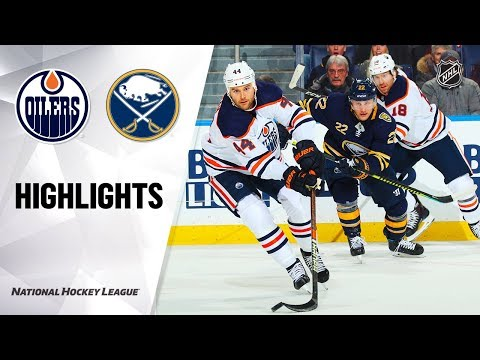 NHL Highlights   Oilers @ Sabres 1/2/20