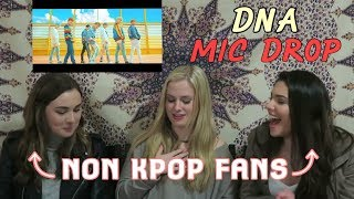 NON KPOP FANS REACT TO BTS- DNA, MIC DROP