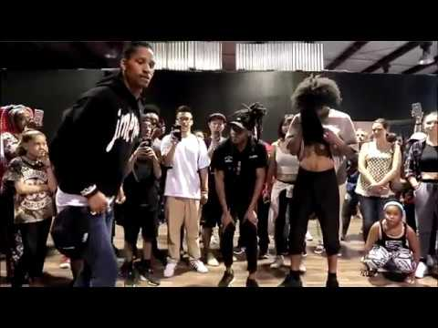 Larry (Les Twins) - Busta Rhymes - Party is Going On Over Here (CLEAR AUDIO)
