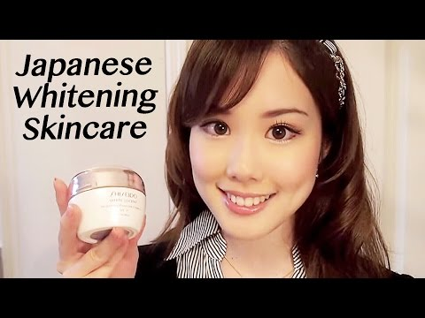 Japanese WHITENING Skincare! + Makeup Favorites 美白スキンケア&メイク