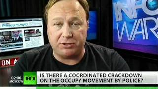 Alex Jones on Homeland Security infiltrating OWS