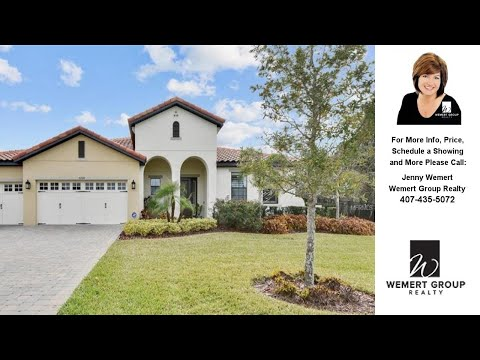 5220 WATERSIDE VISTA LANE, SAINT CLOUD, FL Presented by Jenny Wemert.