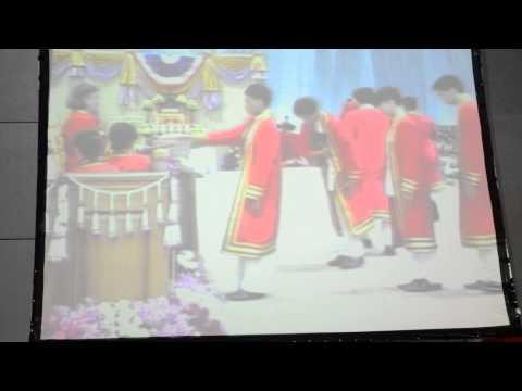 พิธีพระราชทานปริญญาบัตร พระจอมเกล้าพระนครเหนือ วทอ. 2556