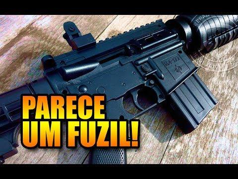 Review e tiros: rifle Crosman M4-177 - PCP (4,5 mm)