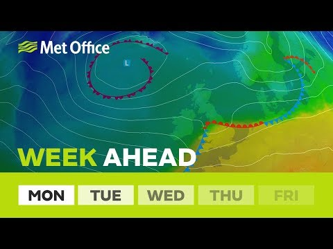 Week ahead - Back to spring weather, a cooler feel & plenty of showers