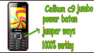 celkon c9 jumbo  power batan jumper ways 1000% working