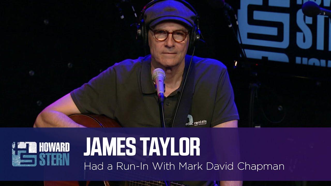 James Taylor Met Mark David Chapman the Day Before He Shot John Lennon