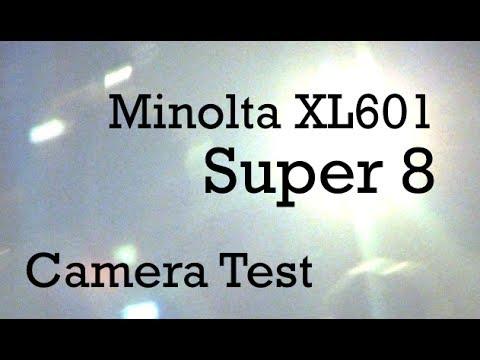 Super 8 Camera Test - Minolta XL601 / Kodak 500T