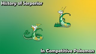 How GOOD was Serperior ACTUALLY? - History of Serperior in Competitive Pokemon (Gens 5-7)