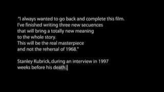 2001: A Space Odyssey, The version Kubrick never saw, 2004 trailer