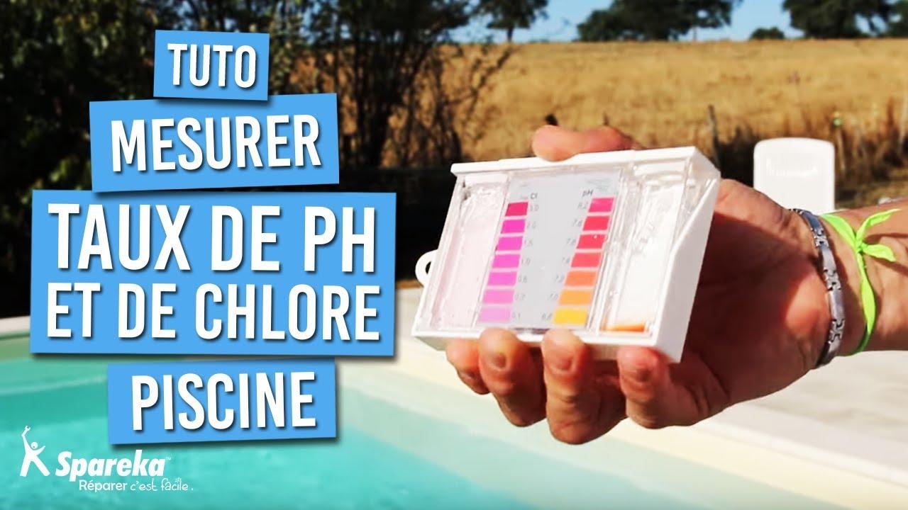 Comment analyser le taux de chlore et ph de l 39 eau de votre - Taux de chlore piscine ...