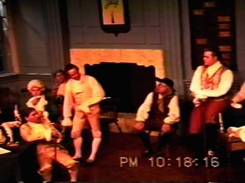 1776 - Jeff Lowe as Edward Rutledge singing - Molasas to Rum