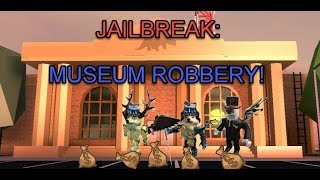Roblox Jailbreak: Group Robbery!