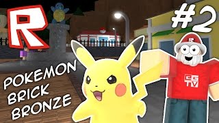 I FOUND PIKACHU!!! Roblox Pokémon Brick Bronze #2