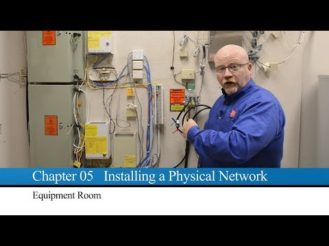 Mike Meyers On: Touring The Network Server Room