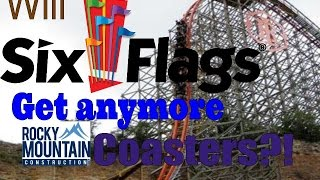 will six flags get any more rmc roller coasters