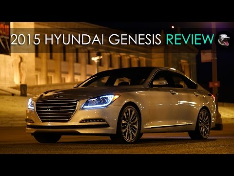 Review 2015 Hyundai Genesis V8 and V6 G80 The Joke is on You