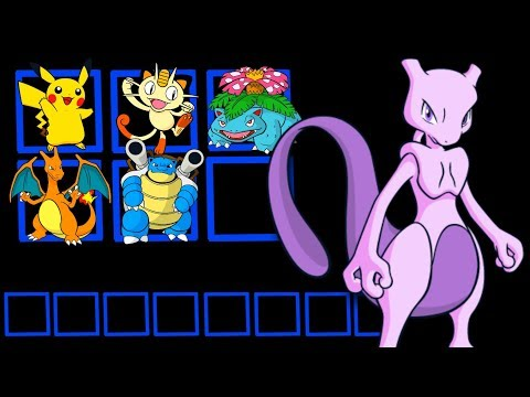 Every Pokemon owned by Mewtwo