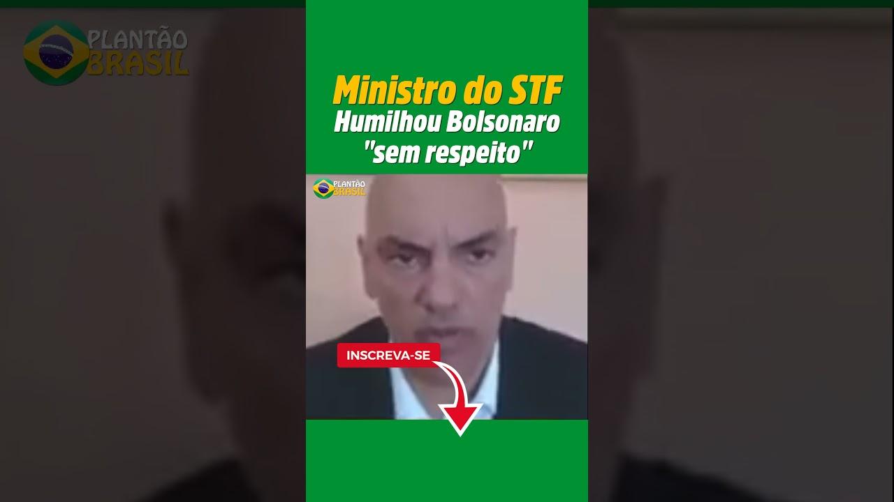 Ministro Alexandre esmaga Bolsonaro ao vivo em entrevista #shorts