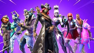 Fortnite Season 6 All Battle Pass Skins..