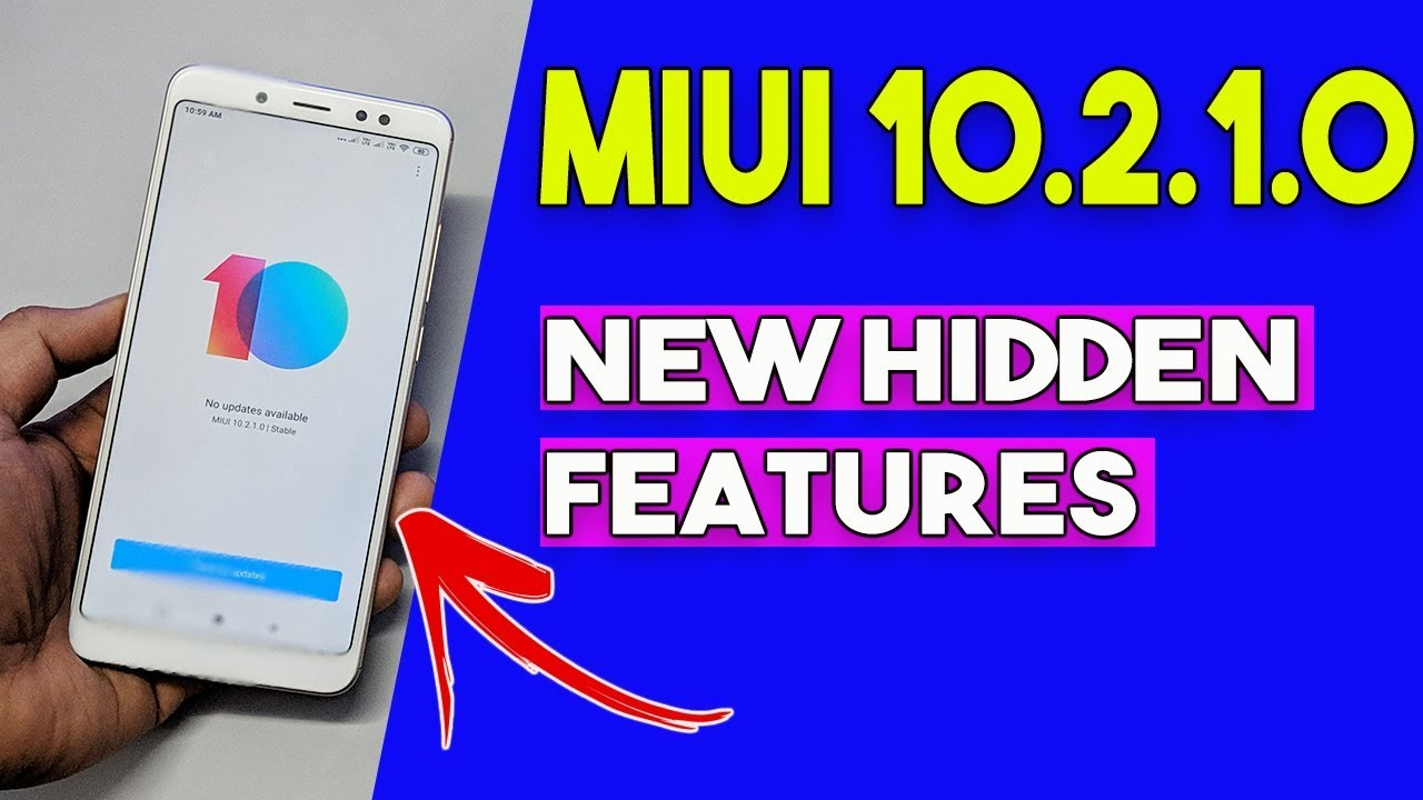 MIUI 10 2 1 0 Redmi Note 5 Pro HIDDEN FEATURES | Full REVIEW