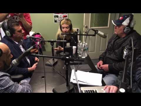 The Wiseguyz in Studio Guest The Horror Queen Genoveva Rossi 2
