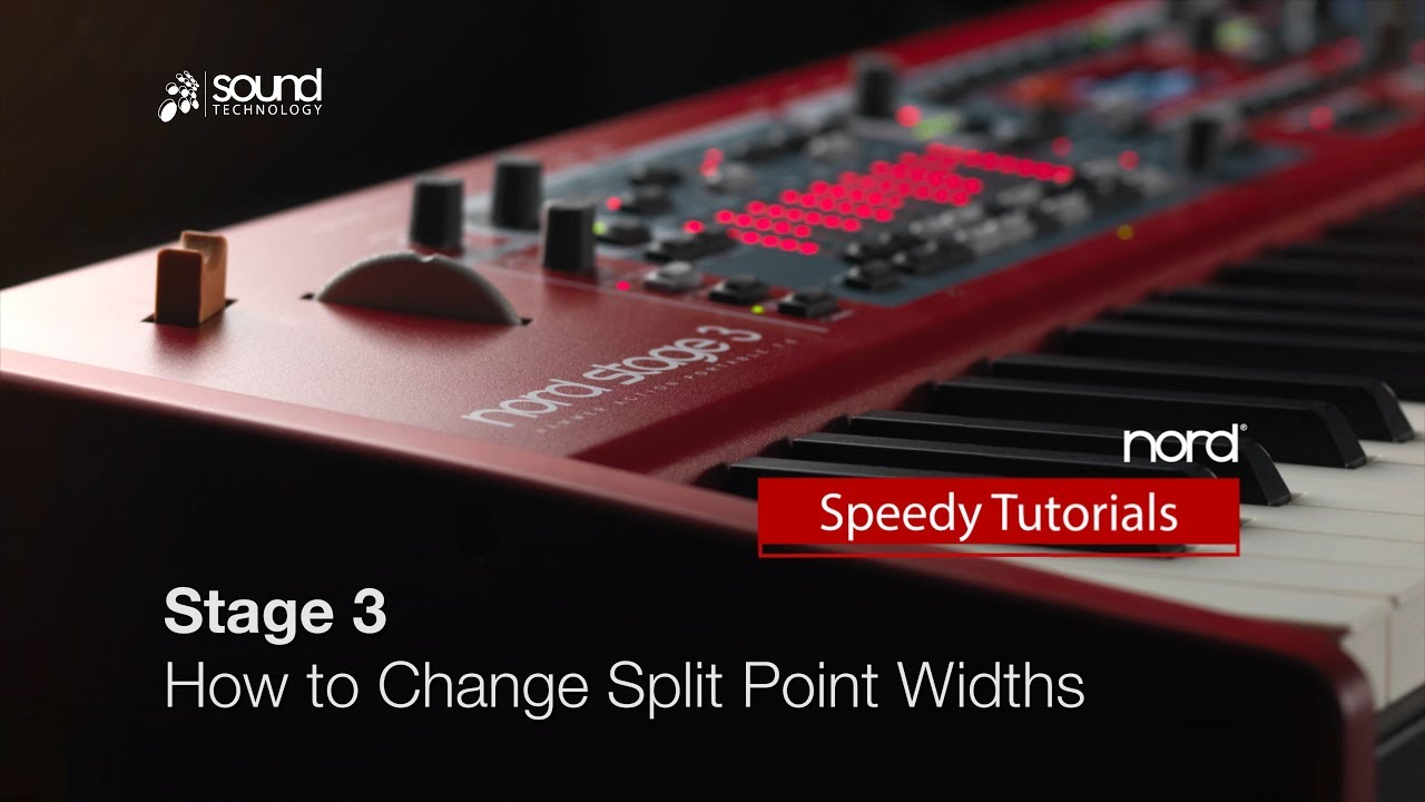 Nord Stage 3 : How to use the new Split Point crossfade option